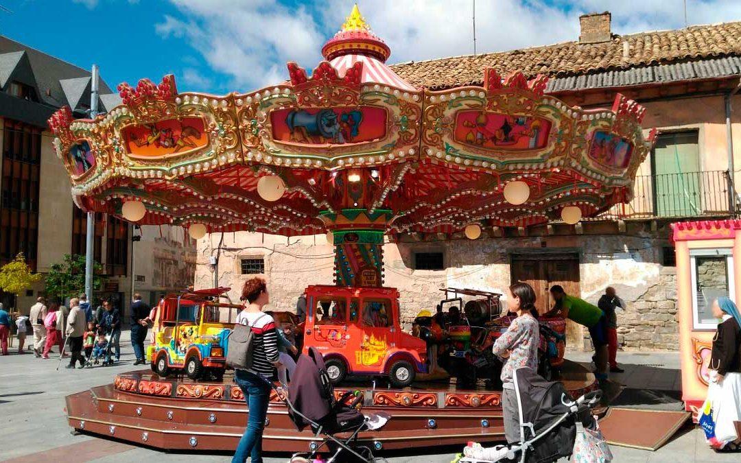 Carrusel 1900 regresa a Jaca por Semana Santa