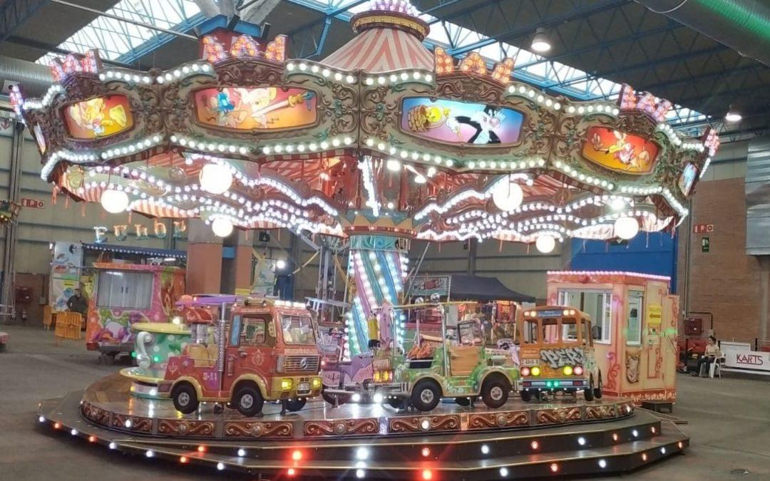 Visita el Carrusel 1900 en la Feria de Muestras