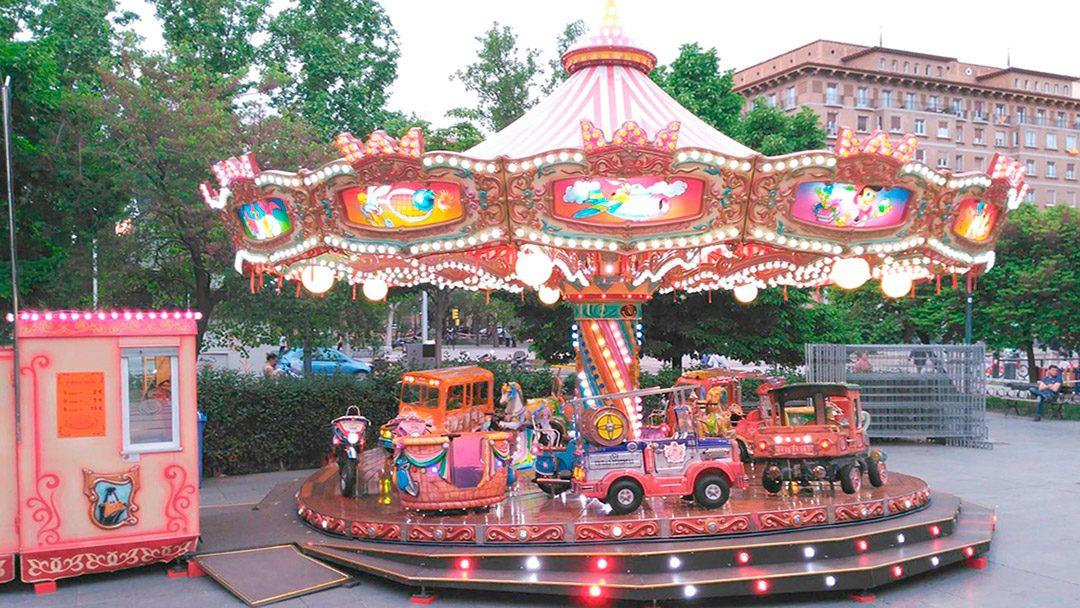 Carrusel 1900: Plaza San Francisco 10 de mayo – 16 de junio