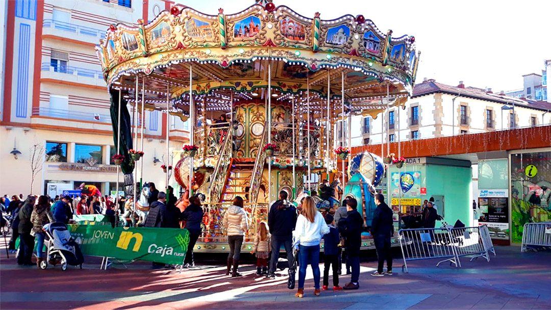 Carrusel Dos Pisos Soria 06-12-2018
