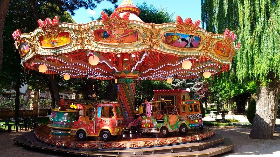 Carrusel 1900: Parque de La Alameda, Soria, 10 de julio – 15 de septiembre