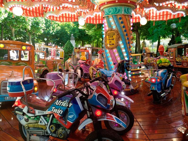 Carrusel 1900: Parque de La Alameda, Soria, 10 de julio - 15 de septiembre