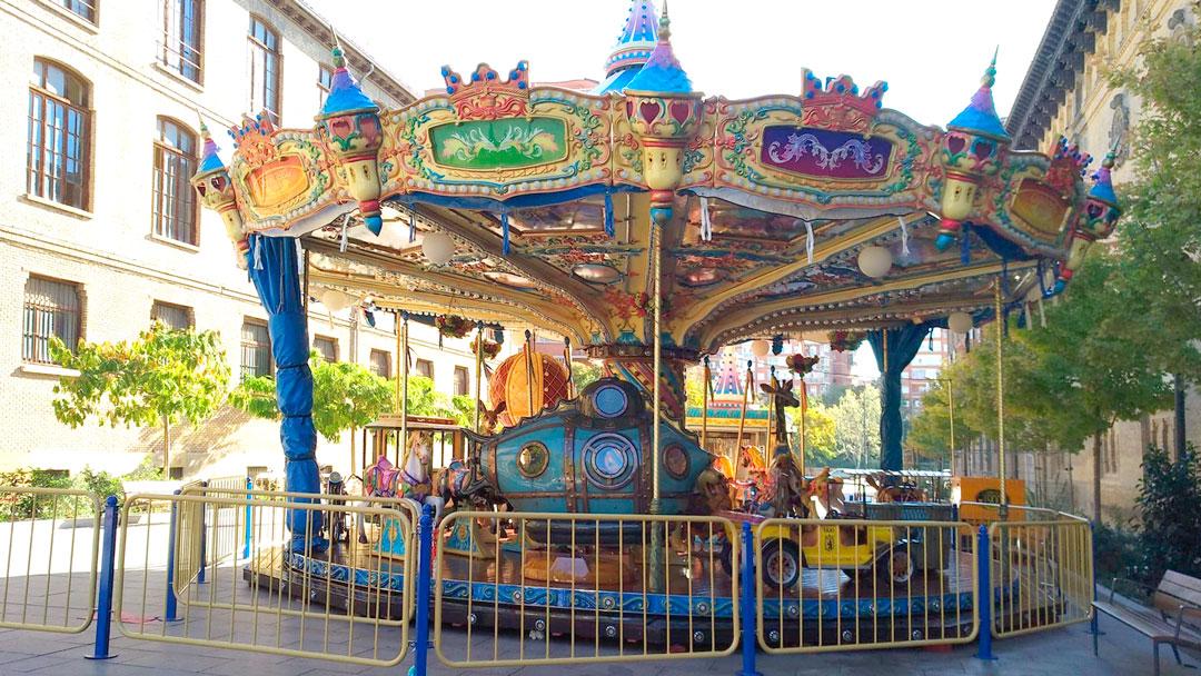 ¡Volvemos! Carrusel Caballitos en Calle Moret prorrogado hasta el 1 de noviembre